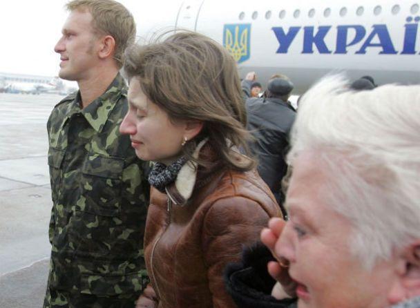 Екіпаж Faina прибув до Києва