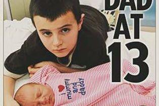 У Великобританії 13-річний школяр став татом