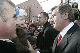 Ющенко відкриє пологовий будинок у Кривому Розі