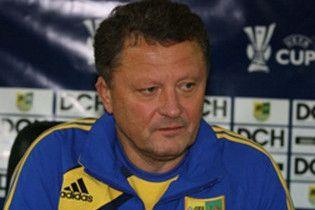 Маркевич: збірна Україна повинна грати проти найсильніших
