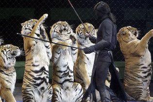 У Росії заборонили фотографуватися з тваринами в цирку