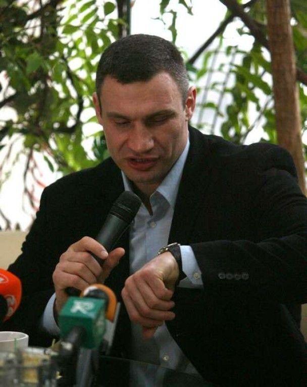 Віталій Кличко: я навіть радий інциденту з митниками