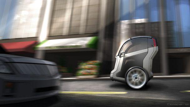 General Motors створив двоколісний автомобіль