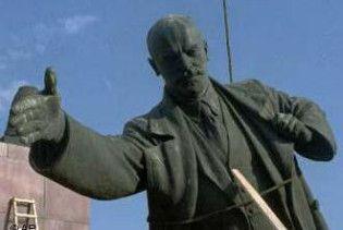 Пам'ятник Леніну на Львівщині замінять Матір'ю-Україною