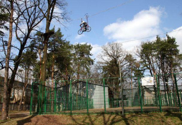 У Києві відкрився парк екстремальних розваг
