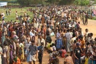 Майже 40 тисяч шріланкійців стали біженцями
