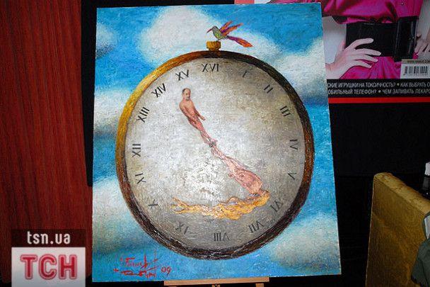 Білик намалювала годинник, Скрипка - сміття, а Кільчицька - цінності