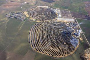 В Іспанії запрацювала найбільша у світі сонячна електростанція