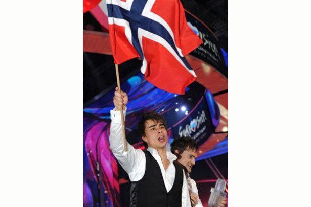 В Норвегії Олександра Рибака зустріли як пілота, що йде на пенсію