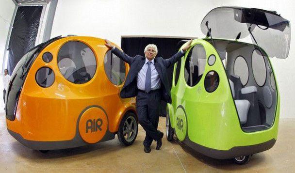 Новий французький автомобіль Airpod працює на повітрі
