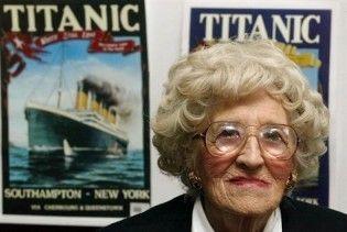"""Померла остання пасажирка """"Титаніка"""""""