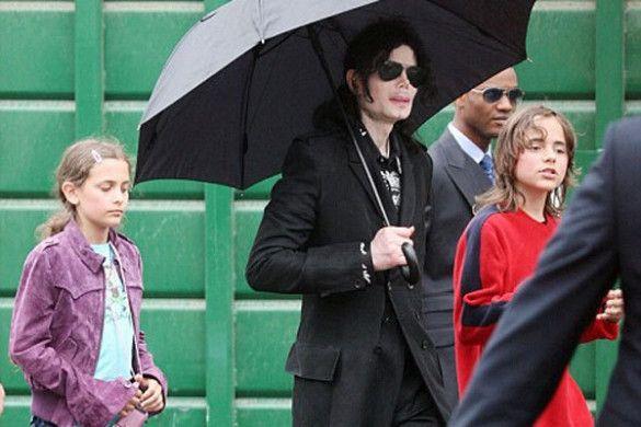 Майкл Джексон з дітьми