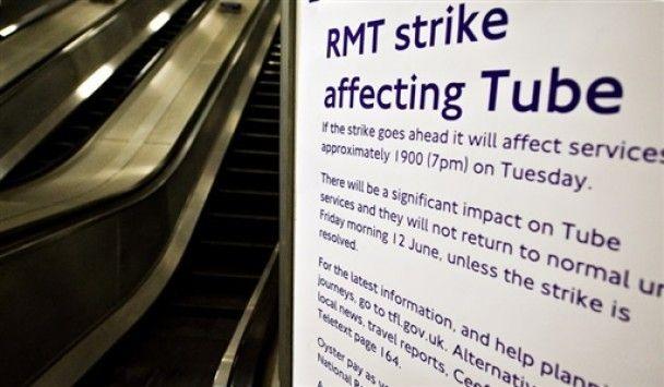 Транспортний хаос охопив Лондон