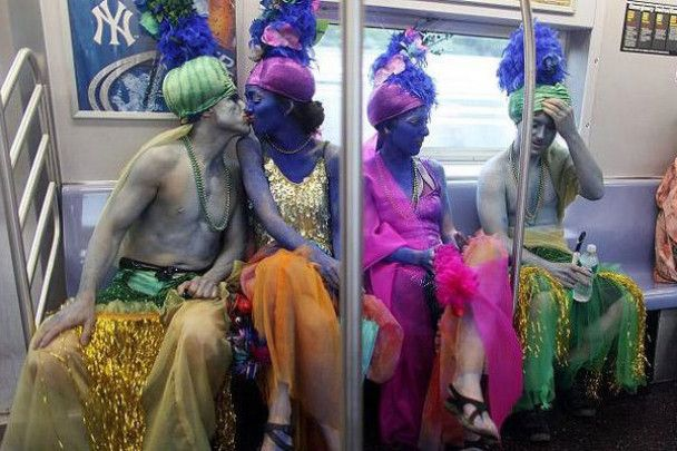 """В Нью-Йорку пройшов """"Парад русалок"""""""