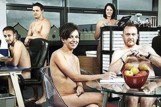 Співробітники офісу в Британії один день працювали голяка