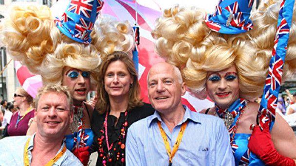 У Лондоні провели гей-парад на державному рівні