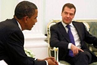"""Обама чекає від Мєдвєдєва """"крок назустріч"""" після відмови від ПРО"""