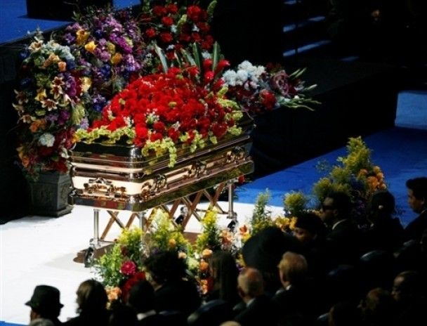 Прощання з Майклом Джексоном