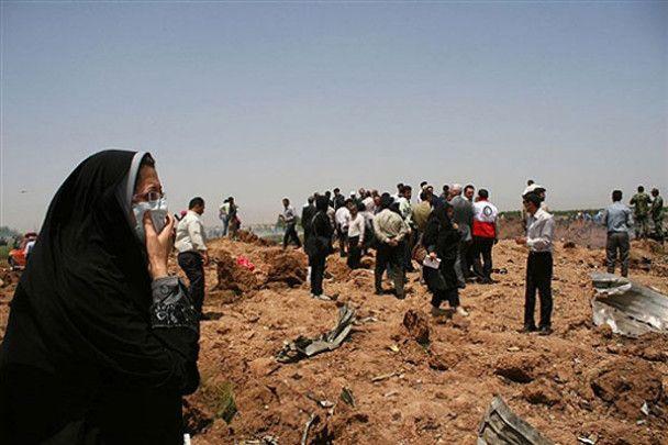 Встановлена причина аварії Ту-154 в Ірані