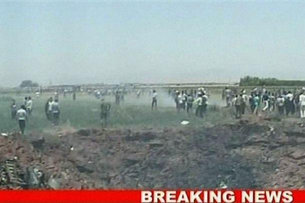 В Ірані розбився літак Ту-154
