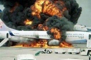 Іранський пасажирський літак загорівся в повітрі