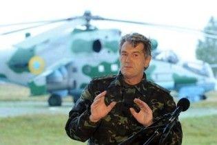 Ющенко їде до Криму на військово-морські навчання