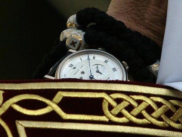 Патріарх Кирило носить годинник за 30 тисяч євро