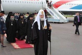 Патріарх Кирило прилетів в Україну