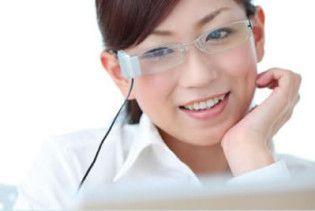 Нові USB-окуляри захищають очі під час роботи за комп'ютером