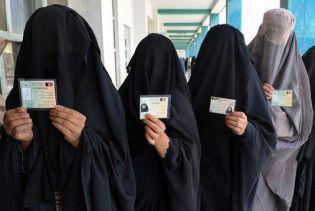 На виборах в Афганістані чоловіки голосували замість жінок