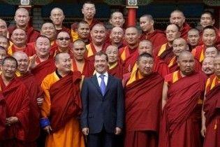 Буддисти оголосили Мєдвєдєва втіленням бога на землі
