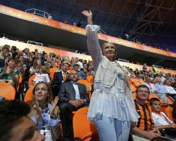 """Відкриття стадіону """"Донбас-Арена"""""""