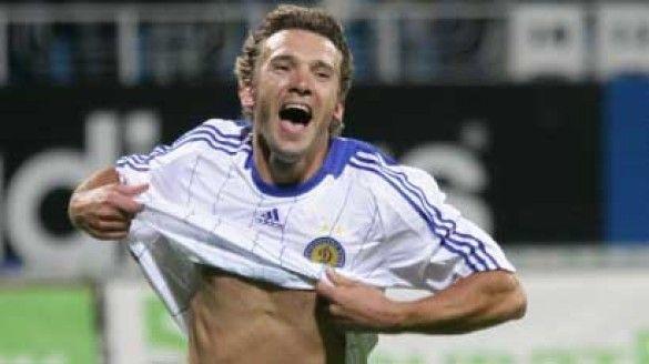 Андрій Шевченко не йде з поля без гола