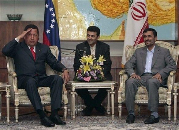Чавес та Ахмадінежад