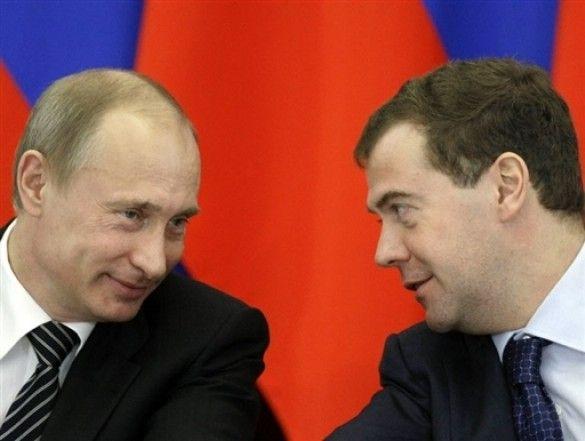 Мєдвєдєв та Путін