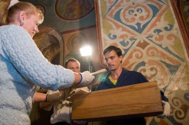 У Києві відкрили гробницю Ярослава Мудрого, щоб вивчити його ДНК