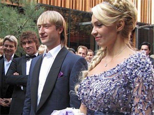 За шлюбну ніч Плющенко і Рудьковська заплатили 300 тисяч