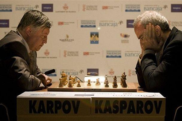 Суперматч легенд: Карпов vs Каспаров