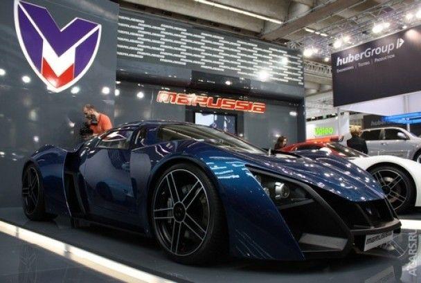 Суперкар Marussia проти Ferrari