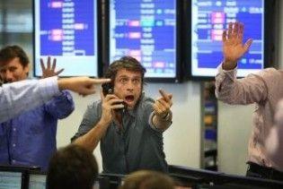 Український фондовий ринок знову різко обвалився