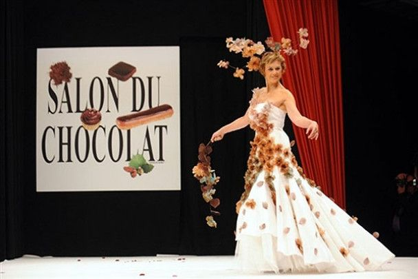 Шоколадне дефіле у Парижі