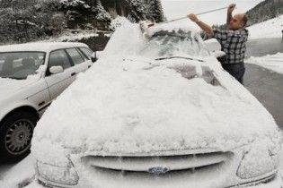 ДАІ закликає бути уважнішими на дорогах у зв'язку з ускладненням погодних умов