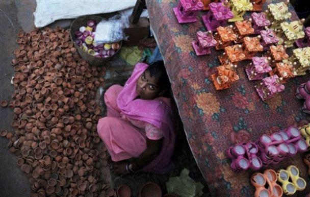 Індія готується до свята Дівалі