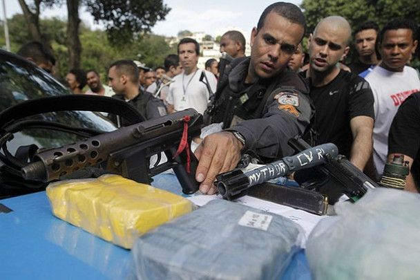 Війна наркоторговців у Ріо-де-Жанейро