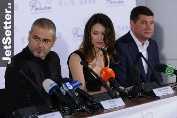 Ольга Куриленко прилетіла до Києва на показ Елі Сааба