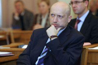 Турчинов попередив, що світ не визнає вибори в Україні