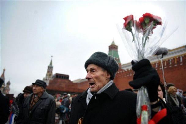 Парад 7 листопада на Красній площі