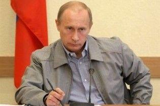 Путін: терористи будуть знищені
