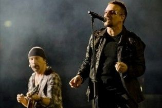U2 заграли нові пісні на першому після перерви концерті