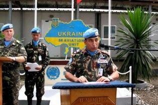 До Ліберії вирушили 150 українських миротворців